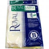 Royal / Dirt Devil Type B Metal Upright  Vacuum Bags 3-671075-001 - Genuine  - 3 Pack