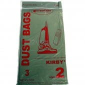 Kirby Style 2 Vacuum Cleaner Bags - 3 Bags - Generic