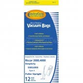 Carpet Pro Anti-Bacterial Bags for CPU-1, CPU-75T CPU-85T