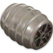Genuine Dyson DC18 Iron Gray Barrel Stabilizer Wheel - 911200-01