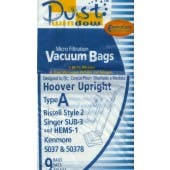 Bissell Style 2  Vacuum  Bags - 9 Pack - Generic - 32018/32013