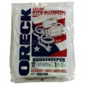 Oreck PKBB12DW Compact Canister Buster B  Hypo-Allergenic- Genuine - 12 bags + 1 filter/ Pack