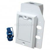 791760W SUPERVALVE, 110V SMALL INSET DOOR WHITE SAME AS NUTONE CI358W