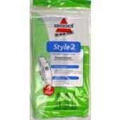 Bissell Style 2 Vacuum Cleaner Bags- Genuine - 3 Bags - 32018