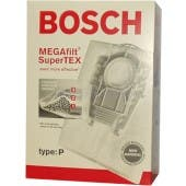 Bosch Type P MEGAfilt Super TEX Vacuum Cleaner Bags BBZ52AFP2U - 5 pack