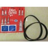 Dirt Devil 3-720310-001 Style 4  5 Belt - 2 pack