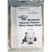 Dust Care Jetpack Backpack Paper Bags - 10 pack