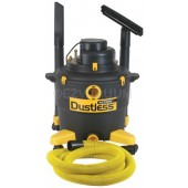 Dustless 16003 16 Gallon Dustless Wet Dry Vacuum with 12-Foot-by-1-1/2-Inch Hose