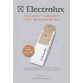 Electrolux EL205B Oxygen 3 /OXY3 / Precision Upright Vacuum Bags - 4 bags + 1 Filter