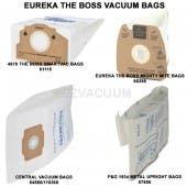 Eureka The Boss Vacuum Bags MM, RR, F&G