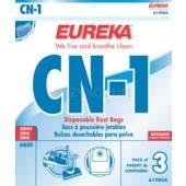 Eureka  CN-1 Vacuum Bags 61980A  - Genuine - 3 Pack