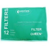 Filter Queen Vacuum Cones -  EnviroCare - 96 Cones Plus 4 Free Belts