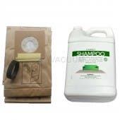 Kirby Generation Series Combo Vacuum Cleaner Service Kit - 9 Bags, 1 Gallon Shampoo, 1 Belt