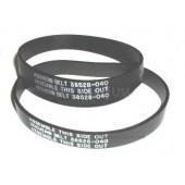 Hoover 38528-040 , 38528-027 Upright Agitator Vacuum Belts - Genuine  - 2 belts