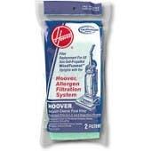 Hoover Non Self Propelled WindTunnel Bagged Models Final Filter 38766009 - 2 Pack