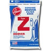 Hoover  Z Vacuum Bags 4010075Z - Genuine - 3 Pack