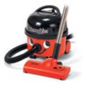 Numatic HVX200-22 Xtra Canister Vacuum Cleaner Red with Autosave Feature
