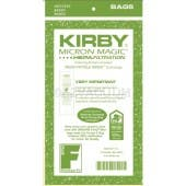 Kirby Style F Micron Magic HEPA Vacuum Cleaner Bags  197209- 3 Pack  - Genuine