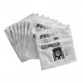 Miele Type GN / GN Filtrete 3M Premium Synthetic Cloth Dustbags. 5 Replacement Bags  2 Filters. Replaces Miele Part 07189520, 05588941