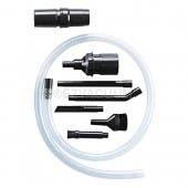 Mini Vac Vacuum Cleaner 8Pc Attachment Kit Cleans Sewing Machines, Flexible Hose