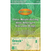 Oreck TYPE CC Odor Neutralizing Vacuum Bags Replaces CCPK8OF - 8 pack