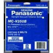 Panasonic MC-V350B Type UB 9 Belts - Genuine - 2 pack