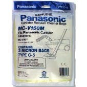Panasonic Type C-5 Micron vacuum cleaner bags MC-V150M- Genuine - 3 pack