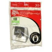 Dirt Devil SD30040BB Bags - Genuine - 3 Pack