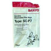Sanyo  SC-P7 Bags- Genuine -3 pack