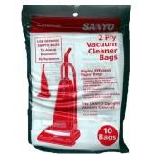 Sanyo  SC-PU110 Upright Bags- Genuine -10 pack