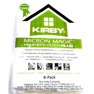 ONE Genuine Kirby HEPA ALLERGEN FIlter 204811 G3 G4 G5 G6 G7 G10D Sentria Avalir
