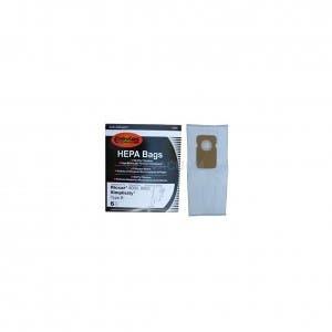 6 Allergen 4 Riccar Vibrance A HEPA Vacuum Bags Fits Riccar 2000 /& 4000 Upright