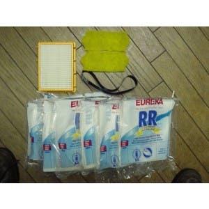 Eureka 4870DT Eureka 4870F Eureka Boss SmartVac 4870MZ 9 Replacement RR Vacuum Bag 61115B /& HF-2 HEPA Filter 61111D for Eureka Eureka 4875A Compatible with Eureka 4800 series Eureka 4885BT Eureka 4874AT Eureka 4870MZ Eureka 4870G, Eureka 4870GZ