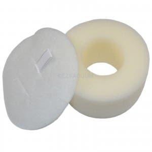 2pc Washable Reusable Foam Felt Filter Set Fit for HV300 Vacuum Cleaner Nice