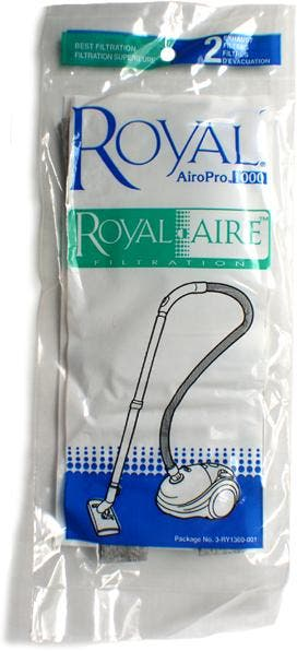 Royal Aire 3 Ry1300 001 Airopro 1000 Exhaust Filter Genuine