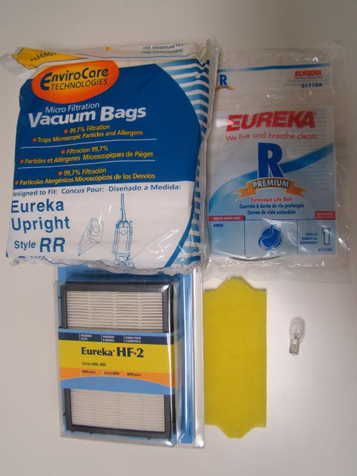 Eureka Ultra Smart Vac Uprights 4870 Series Tune Up Kit