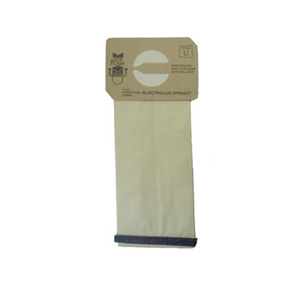 Electrolux Upright Style U Vacuum Bags 10 Bags