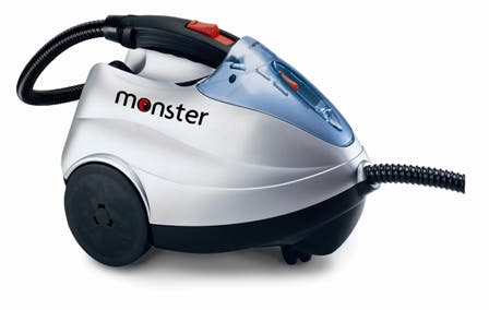 Monster Sc60 Powerful Pressurized Cylinder Steam Cleaner