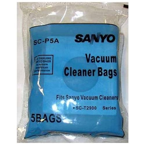 Sanyo Sc P5a Canister Vacuum Cleaner Bags Generic 5 Pack