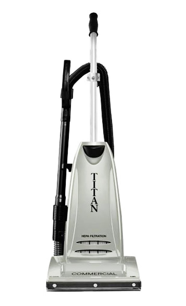 Titan Tc6000 Commercial Upright Vacuum Cleaner With On