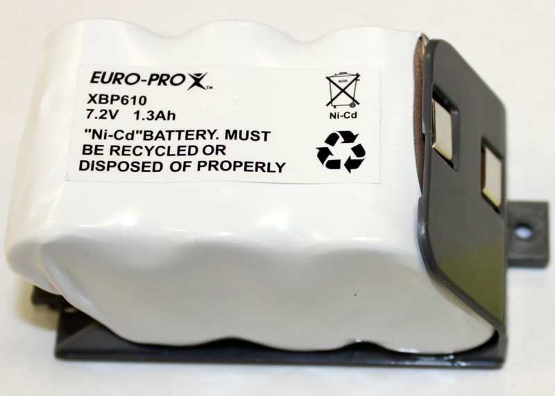 Shark Euro Pro U610 Vacuum Battery Pack Xbp610