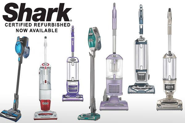 Shark Certified Refurbished Vacuum Cleaners